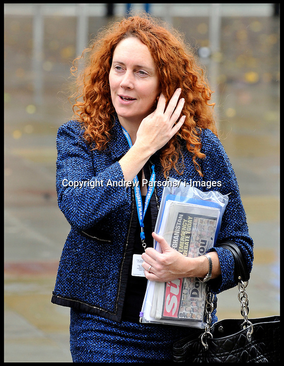 Rebekah Brooks, the chief executive of News International and former Sun editor attends the Conservative Party Conference in Manchester, October 2009, Photo by Andrew Parsons/ i-Images