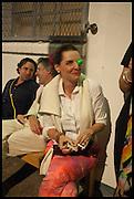 CHARLOTTE PHILLIPS; , Matt's Gallery 35th birthday fundraising supper.  42-44 Copperfield Road, London E3 4RR. 12 June 2014.