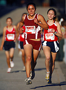 Oct, 20, 2006; Walnut, CA, USA: Maritza Garcia of Riverbank places fourth in the girls Division IV sweepstakes race in 19:13 over the 2.91-mile course in the 59th Mt. San Antonio College Cross Country Invitational.