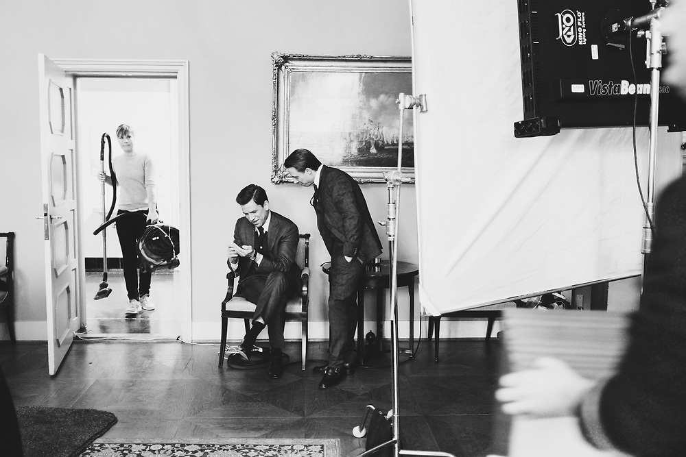 Behind the scenes 'Follow The Money'