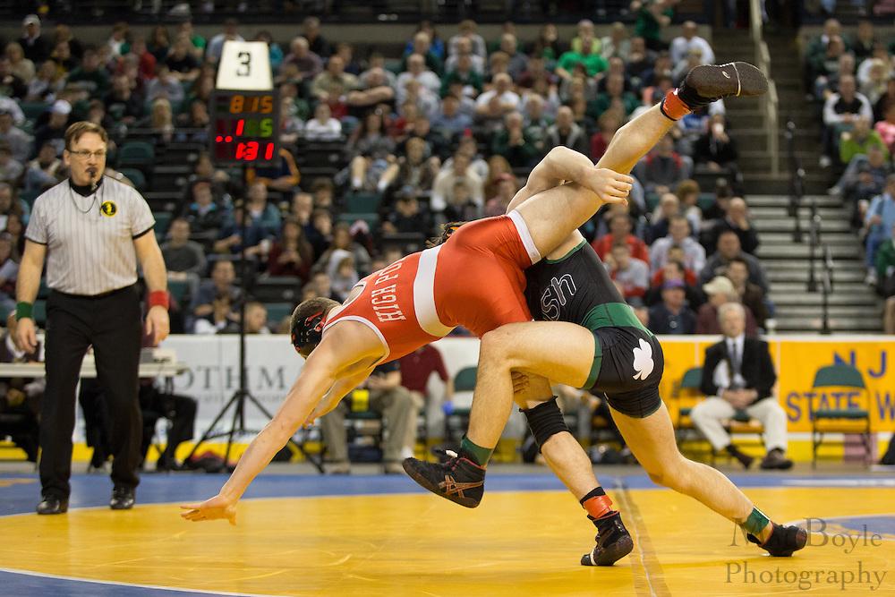 NJ State Wrestling Tournament | Mat Boyle Photography