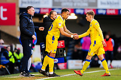 Jonson Clark-Harris of Bristol Rovers replaces Gavin Reilly of Bristol Rovers - Mandatory by-line: Ryan Hiscott/JMP - 01/01/2009 - FOOTBALL - Roots Hall - Southend-on-Sea, England - Southend United v Bristol Rovers - Sky Bet League One