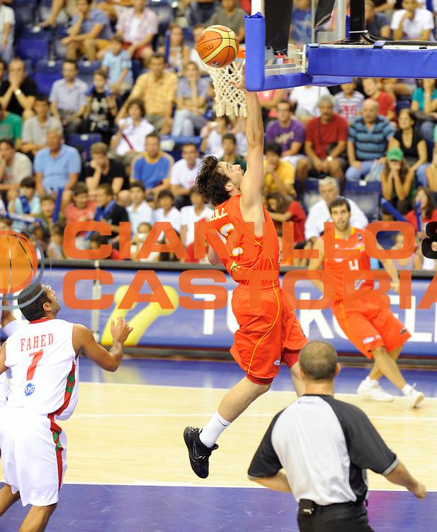 DESCRIZIONE : Championnat Du Monde 2010 Turquie Izmir Tour Preliminaire <br /> GIOCATORE : Llull Segio<br /> SQUADRA :  Espagne<br /> EVENTO : Championnat du monde 2010<br /> GARA : Espagne Liban<br /> DATA : 01/09/2010<br /> CATEGORIA : Basketball Action Homme<br /> SPORT : Basketball<br /> AUTORE : JF Molliere FFBB par Agenzia Ciamillo-Castoria <br /> Galleria : France Basket Championnat du monde 2010<br /> Fotonotizia : Championnat du monde Turquie Izmir Tour Preliminaire Jour 4 <br /> Predefinita :