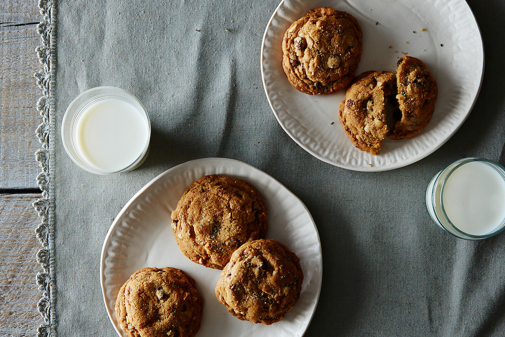 Cookies with Rosemary Salt
