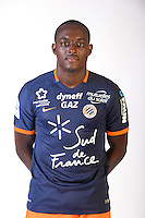 Jerome Roussillon during the photocall of Montpellier for new season of Ligue 1 on September 27th 2016 in Montpellier<br /> Photo : Mhsc / Icon Sport