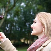 Monica Rossetti, oenologue de la famille Carraro. Les auteurs du vins de la coupe du monde.