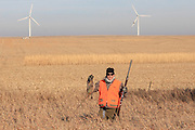 Pheasant Hunter in South Dakota