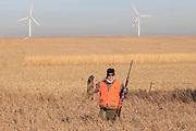 Pheasant Hunter in South Dakota