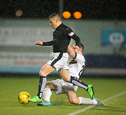 Falkirk's John Baird. <br /> Falkirk 1 v 0 Dumbarton, Scottish Championship game played 26/12/2015 at The Falkirk Stadium.