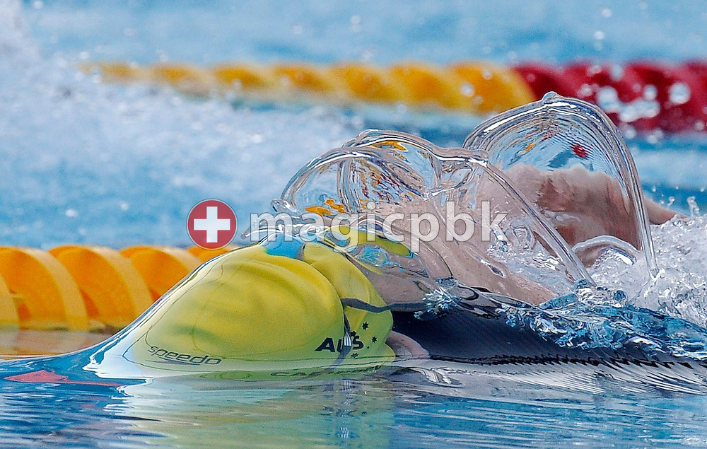 Cate Campbell of Australia competes in the women's 50m freestyle semifinal at the 13th FINA World Championships at the Foro Italico complex in Rome, Italy, Saturday, Aug. 1, 2009. (Photo by Patrick B. Kraemer / MAGICPBK)