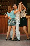 CUBA, GUARDALAVACA..Dancing Rumba..(Photo by Heimo Aga)