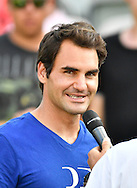 Roger Federer during practise at the Mercedes Cup at Tennisclub Weissenhof, Stuttgart<br /> Picture by EXPA Pictures/Focus Images Ltd 07814482222<br /> 06/06/2016<br /> *** UK & IRELAND ONLY ***<br /> EXPA-EIB-160607-0006.jpg