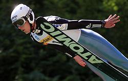 Primoz Zupan of Slovenia at FIS Continental cup Ski-jumping Summer Kranj, on July 6, 2008, Kranj, Slovenia. (Photo by Vid Ponikvar / Sportal Images)<br /> <br /> / Sportida)