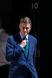 © Licensed to London News Pictures. 26/06/2018. London, UK. Defence Secretary Gavin Williamson leaves 10 Downing Street after the Cabinet meeting. Photo credit: Rob Pinney/LNP