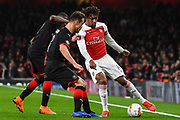 Arsenal Midfielder Alex Iwobi (17) during the Europa League round of 16, leg 2 of 2 match between Arsenal and Rennes at the Emirates Stadium, London, England on 14 March 2019.
