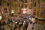 Brixen. Concert at the Brixner Dom.
