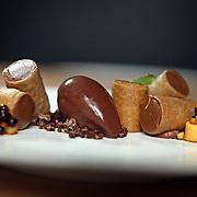 The cannoli dessert Thursday, Jan. 30, 2014 at Cicchetti restaurant. (Brian Cassella/Chicago Tribune) B583499501Z.1 <br /> ....OUTSIDE TRIBUNE CO.- NO MAGS,  NO SALES, NO INTERNET, NO TV, CHICAGO OUT, NO DIGITAL MANIPULATION...