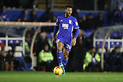 Birmingham City midfielder David Davis (26) during the EFL Sky Bet Championship match between Birmingham City and Brighton and Hove Albion at St Andrews, Birmingham, England on 17 December 2016.