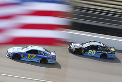 August 12, 2018 - Brooklyn, Michigan, United States of America - Ricky Stenhouse, Jr (17) brings his race car down the front stretch during the Consumers Energy 400 at Michigan International Speedway in Brooklyn, Michigan. (Credit Image: © Chris Owens Asp Inc/ASP via ZUMA Wire)