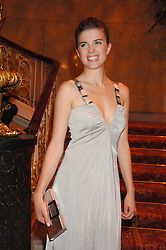 Actress CECILE CASSEL at a party to celebrate the launch of the 'Inde Mysterieuse' jewellery collection held at Lancaster House, London SW1 on 19th September 2007.<br /><br />NON EXCLUSIVE - WORLD RIGHTS