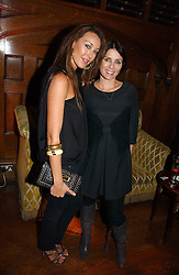 Left to right, TAMARA MELLON and SADIE FROST at The Hospital Awards - to honour talent in the creative industry, held at 9 Grosvenor Place, London on 3rd october 2006.<br /><br />NON EXCLUSIVE - WORLD RIGHTS