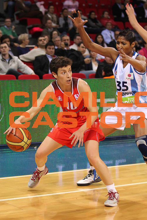 DESCRIZIONE : Istanbul Fiba Europe Euroleague Women 2011-2012 Final Eight Fenerbahce Rivas Ecopolis<br /> GIOCATORE : Elisa Aguilar<br /> SQUADRA : Rivas Ecopolis<br /> EVENTO : Euroleague Women<br /> 2011-2012<br /> GARA : Fenerbahce Rivas Ecopolis<br /> DATA : 30/03/2012<br /> CATEGORIA : <br /> SPORT : Pallacanestro <br /> AUTORE : Agenzia Ciamillo-Castoria/ElioCastoria<br /> Galleria : Fiba Europe Euroleague Women 2011-2012 Final Eight<br /> Fotonotizia : Istanbul Fiba Europe Euroleague Women 2011-2012 Final Eight Fenerbahce Rivas Ecopolis<br /> Predefinita :