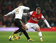 Arsenal v Swansea City 160113