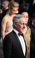 Steven Spielberg.attending the gala screening of The Great Gatsby at the Cannes Film Festival on 15th May 2013, Cannes, France.