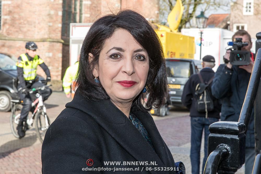 NLD/Naarden/20180330 - Matthaus Passion in de grote kerk van Naarden 2018, Khadija Arib