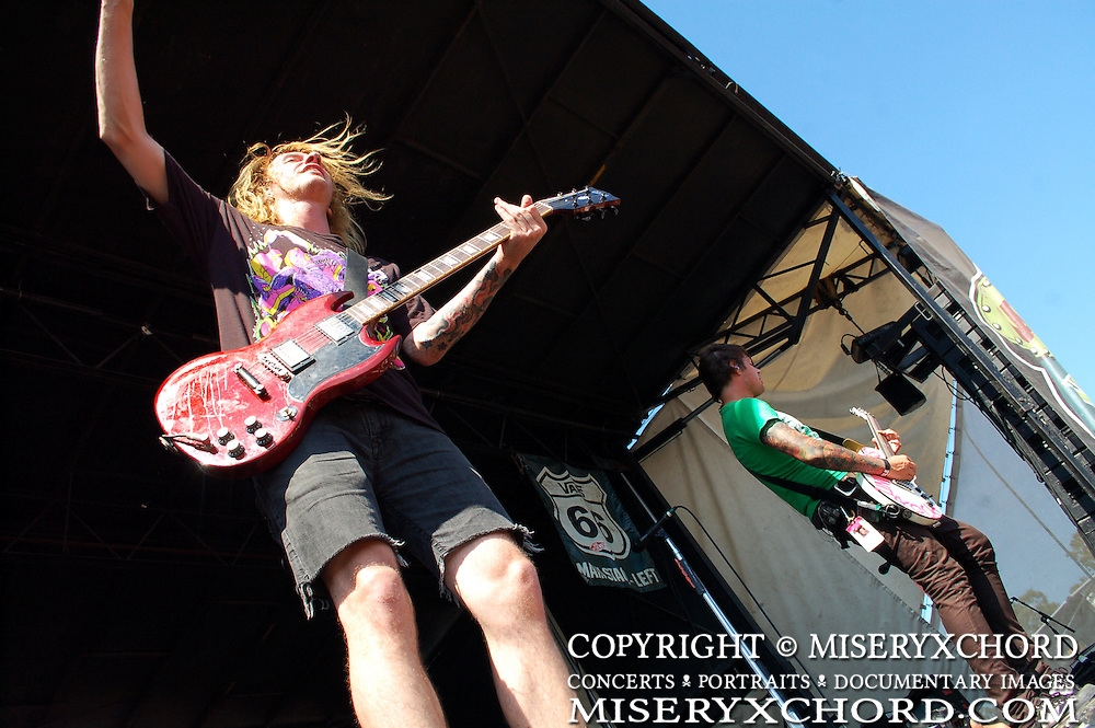 FFTL performing at Warped Tour in Carson, CA
