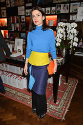 LARA BOHINC at the launch of new book 'Farfetch Curates: Food' at Maison Assouline, Piccadilly, London on 24th March 2015.