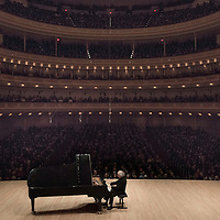 Hungarian Solo Pianist Sir András Schiff live at Carnegie Hall in New York City March 10, 2015
