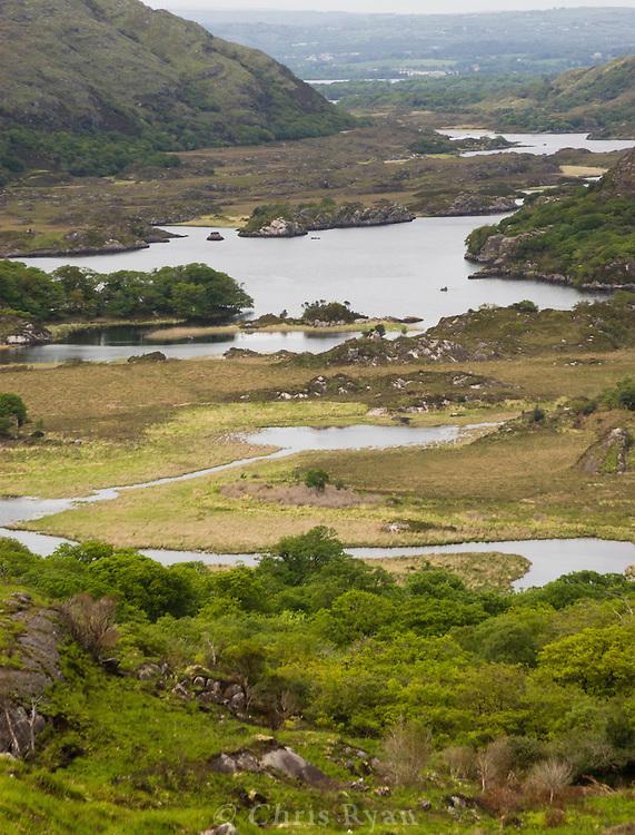 The lakes of Killarney, County Kerry, Ireland
