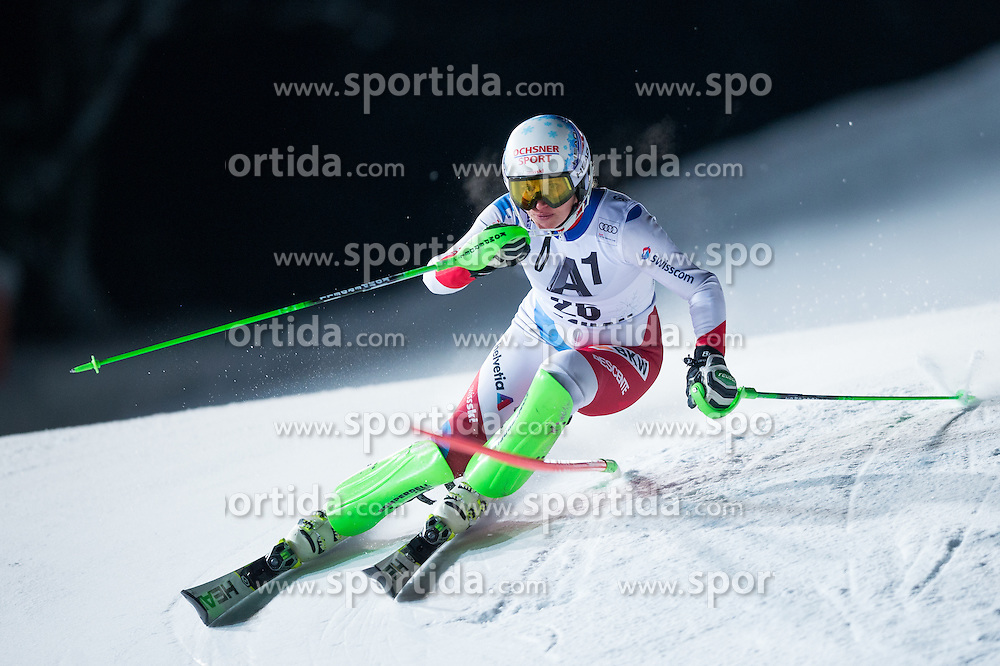 Denise Feierabend (SUI) during the 7th Ladies' Slalom of Audi FIS Ski World Cup 2016/17, on January 10, 2017 at the Hermann Maier Weltcupstrecke in Flachau, Austria. Photo by Martin Metelko / Sportida
