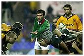 London Irish v Newport Dragons. 15-12-2002. Season 2002-2003.