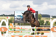 Female rider. Czech Equestrian Masters 2017, held in The Czech Republic - Europe.<br /> Photos for personal and editorial use only