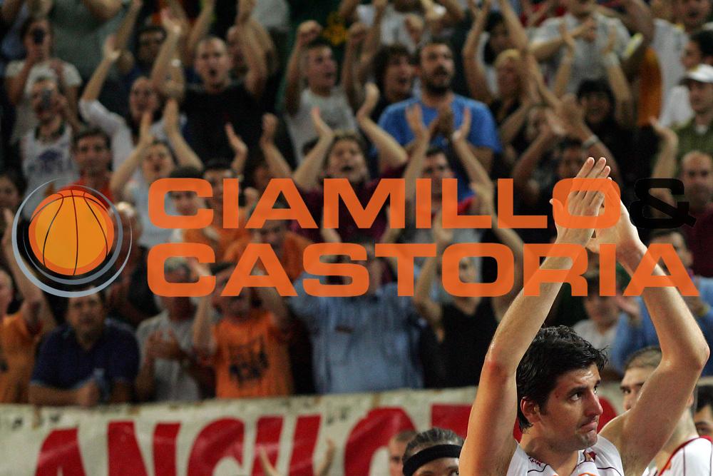 DESCRIZIONE : Roma Lega A1 2006-07 Playoff Semifinale Gara 4 Lottomatica Virtus Roma Montepaschi Siena<br /> GIOCATORE : Dejan Bodiroga<br /> SQUADRA : Lottomatica Virtus Roma<br /> EVENTO : Campionato Lega A1 2006-2007 Playoff Semifinale Gara 4<br /> GARA : Lottomatica Virtus Roma Montepaschi Siena<br /> DATA : 07/06/2007 <br /> CATEGORIA : Special<br /> SPORT : Pallacanestro <br /> AUTORE : Agenzia Ciamillo-Castoria/P.Lazzeroni<br /> Galleria : Lega Basket A1 2006-2007 <br /> Fotonotizia : Roma Campionato Lega A1 2006-2007 Playoff Semifinale Gara 4 Lottomatica Virtus Roma Montepaschi Siena<br /> Predefinita :