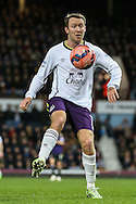 Aidan McGeady of Everton during the FA Cup match at the Boleyn Ground, London<br /> Picture by David Horn/Focus Images Ltd +44 7545 970036<br /> 13/01/2015