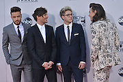 ONE DIRECTION @ the 2015 American Music Awards held @ the Micorsoft theatre.<br /> ©Exclusivepix Media