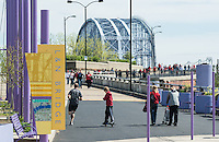 L&N Purple People Bridge Cincinnati Ohio