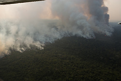 August 23, 2019, Porto Velho, Brazil: aerial scenes of the destruction of the fires that are destroying the Amazon rainforest 80km from the city of Porto Velho, next to the Madeira River in the state of Rondonia, Brazil. (Credit Image: © Dario Oliveira/ZUMA Wire)