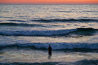 Waiting for the surf, San Diego California.