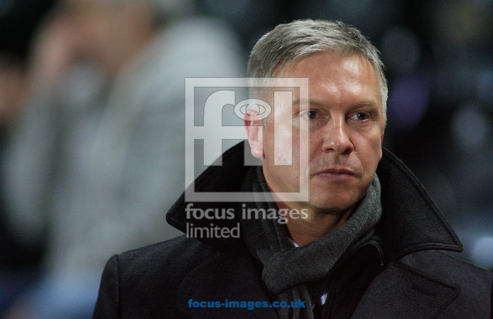 Adam Pearson owner of Hull Football Club during the First Utility Super League match at the KC Stadium, Kingston upon Hull<br /> Picture by Richard Gould/Focus Images Ltd +44 7855 403186<br /> 07/03/2014