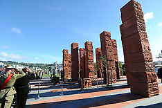 Wellington-Dedication, Australian National Memorial, Pukeahu Park