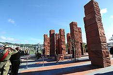 Wellington-Dedication, Australian National Memorial, Pukeahu Park