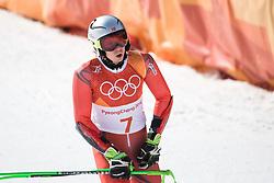 February 18, 2018 - Pyeongchang, SOUTH KOREA - 180218 Henrik Kristofferson of Norway competes in Alpine Skiing Men's Giant Slalom during day nine of the 2018 Winter Olympics on February 18, 2018 in Pyeongchang..Photo: Joel Marklund / BILDBYRÃ…N / kod JM / 87633 (Credit Image: © Joel Marklund/Bildbyran via ZUMA Press)