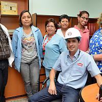 Grupo de médicos y enfermeras del centro de salud de la empresa Heinz. San Joaquin. Aragua, Venezuela. Group of doctors and nurses at Heinz health center. Saint Joaquin. Aragua, Venezuela.