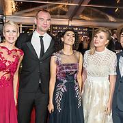 NLD/Amsterdam/20171012 - Televizier-ring Gala 2017, Dione Stax en ...........