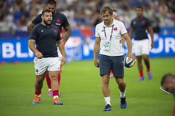France's assistant coach Fabien Galthie during the international test rugby union match between France and Italy at the Stade de France in Saint-Denis, north of Paris, on August 30, 2019.France won 47-19. Photo by Eliot Blondet/ABACAPRESS.COM