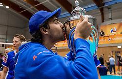 02-10-2016 NED: Supercup Abiant Lycurgus - Coniche Topvolleybal Zwolle, Doetinchem<br /> Lycurgus wint de Supercup door Zwolle met 3-0 te verslaan / Nick Olson #7 of Lycurgus